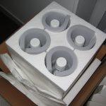 Emballage produit sensible calage
