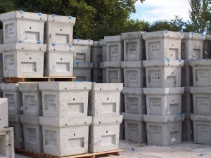 Proctection blocs bétons