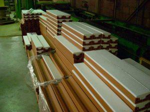 Isolant styrofoam pour linteau